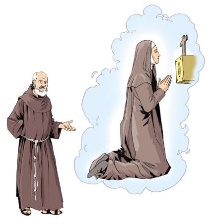 Chiara d'Assisi Santissimo Sacramento Frate Ruffino