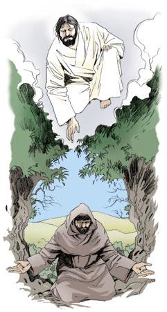 Francesco d'Assisi ispirato dal Vangelo